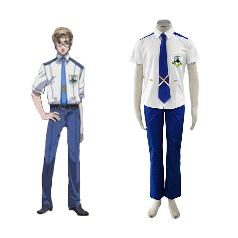 Macross F Mikhail Blanc 1 Cosplay Costumes South Africa