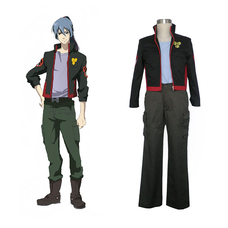 Macross F Ozma Lee 1 SMS Team Cosplay Costumes South Africa