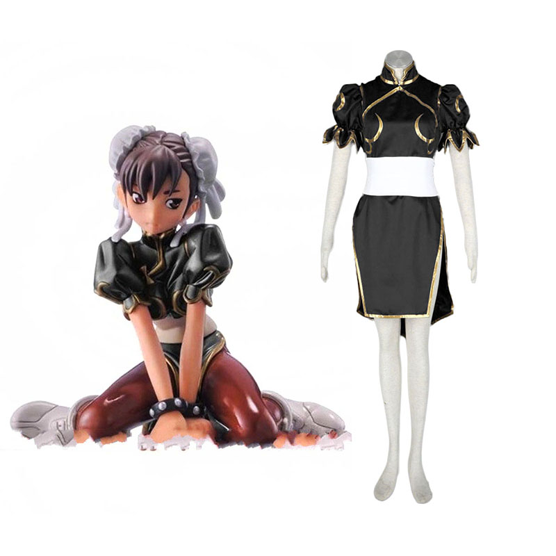 Street Fighter Chun-Li 2 Black Cosplay Costumes South Africa