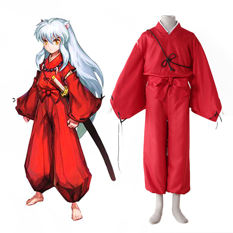 Inuyasha 2 Red Cosplay Costumes South Africa