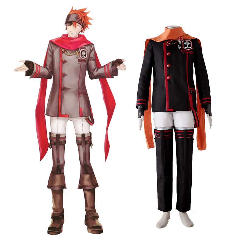 D.Gray-man Lavi 3 Cosplay Costumes South Africa
