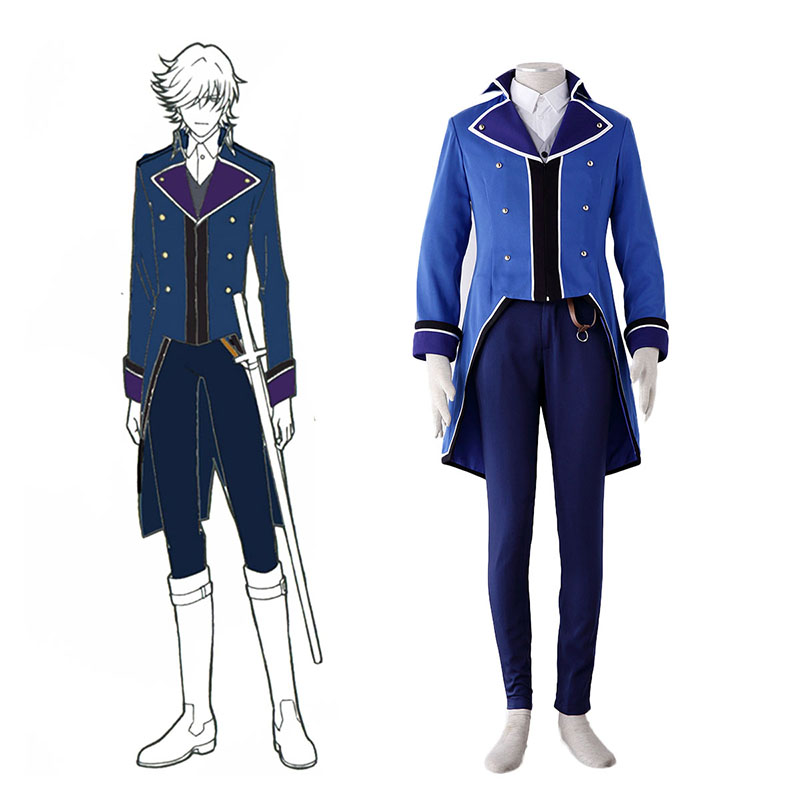 K Blue Organization Uniforms Cosplay Costumes South Africa