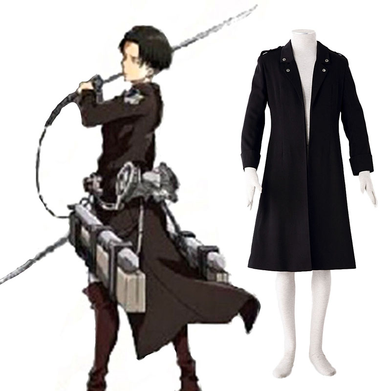 Attack on Titan Levi Black Cosplay Costumes South Africa