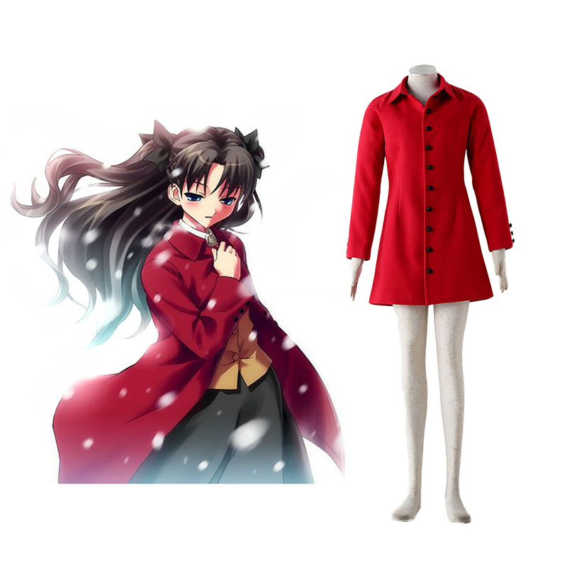 The Holy Grail War Tohsaka Rin 4 Red Cosplay Costumes South Africa