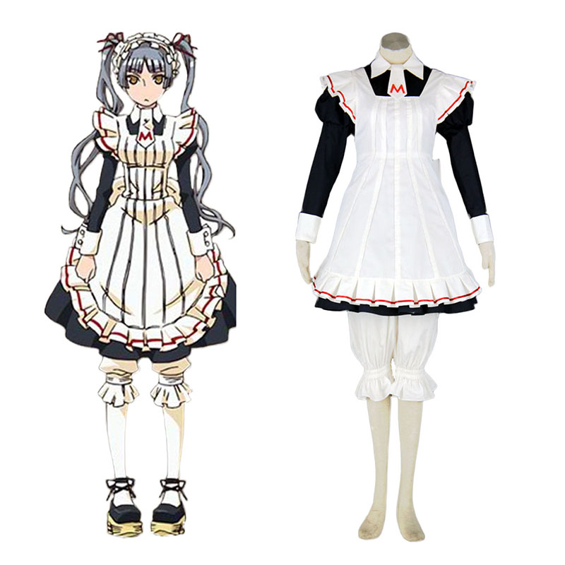 Maria Holic Matsurika Shinōji Maid Cosplay Costume UK