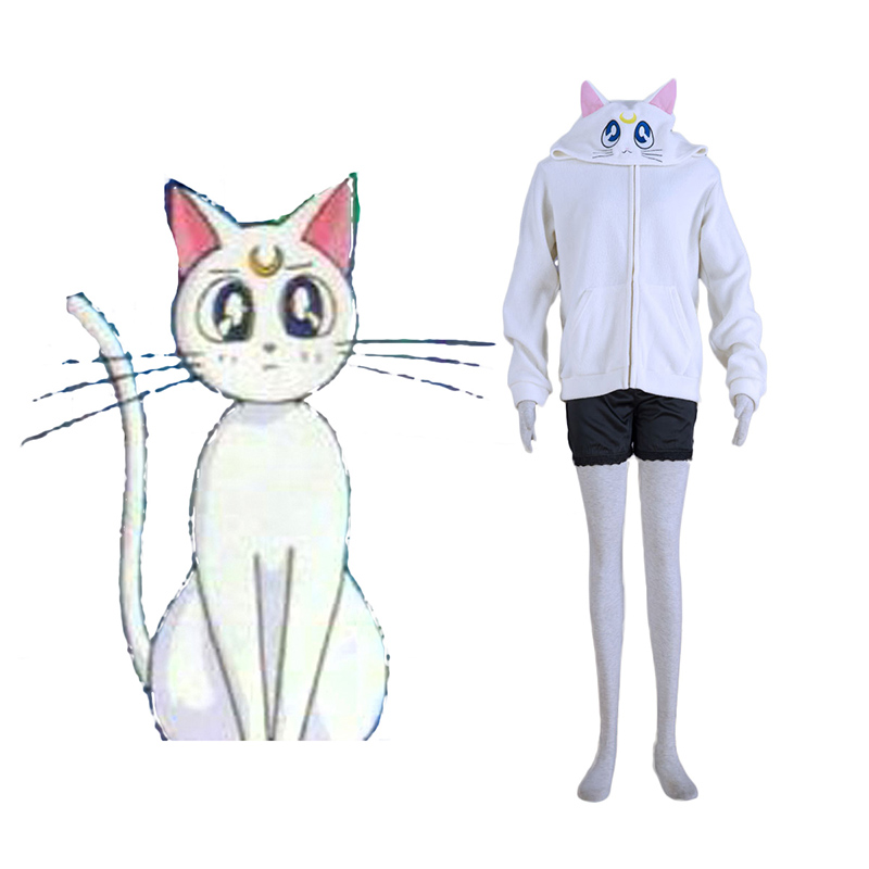 Sailor Moon White Cat Artemis Cosplay Costumes South Africa
