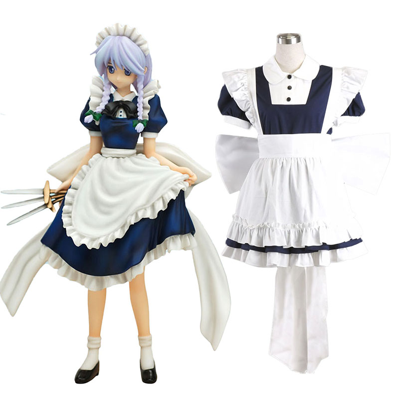 Touhou Project Izayoi Sakuya Cosplay Costumes South Africa