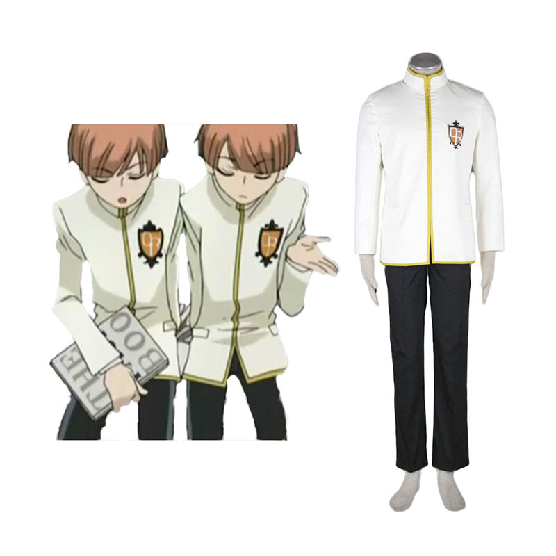 Ouran High School Host Club Male Uniforms Yellow Cosplay Costumes South Africa