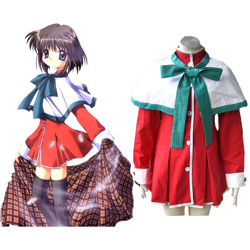 Kanon High School Uniforms Green Ribbon Cosplay Costumes South Africa