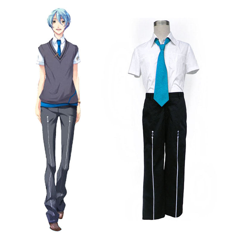 Starry Sky Male Summer School Uniform 3 Cosplay Costumes South Africa