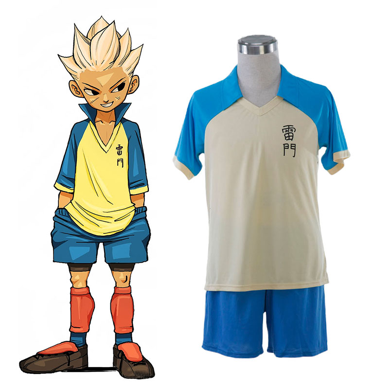 Inazuma Eleven Raimon Summer Soccer Jersey 1 Cosplay Costumes South Africa