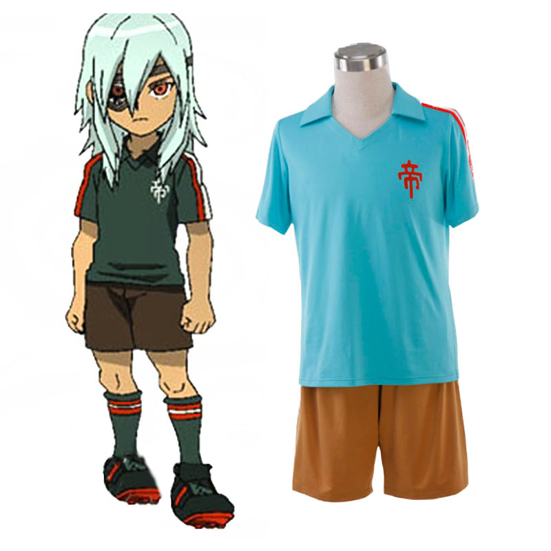 Inazuma Eleven Teikoku Summer Soccer Jersey 1 Cosplay Costumes South Africa