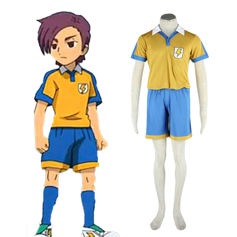 Inazuma Eleven Raimon Summer Soccer Jersey 2 Cosplay Costumes South Africa