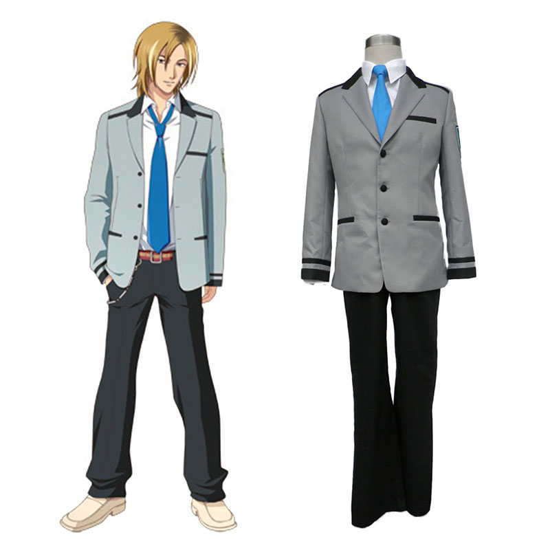 Tokimeki Memorial Girl's Side Male School Uniform Cosplay Costumes South Africa