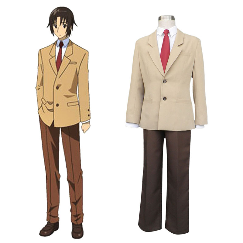 Seitokai Yakuindomo Tsuda Takatoshi 1 Cosplay Costumes South Africa