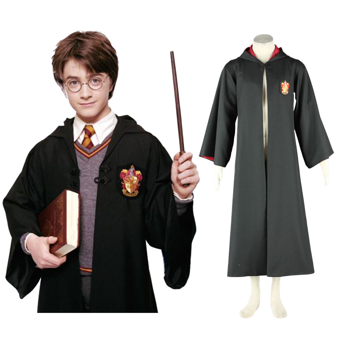 Harry Potter Gryffindor Uniform Cloak Cosplay Costumes South Africa