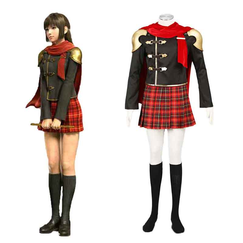 Final Fantasy Type-0 Deuce 1 Cosplay Costumes South Africa