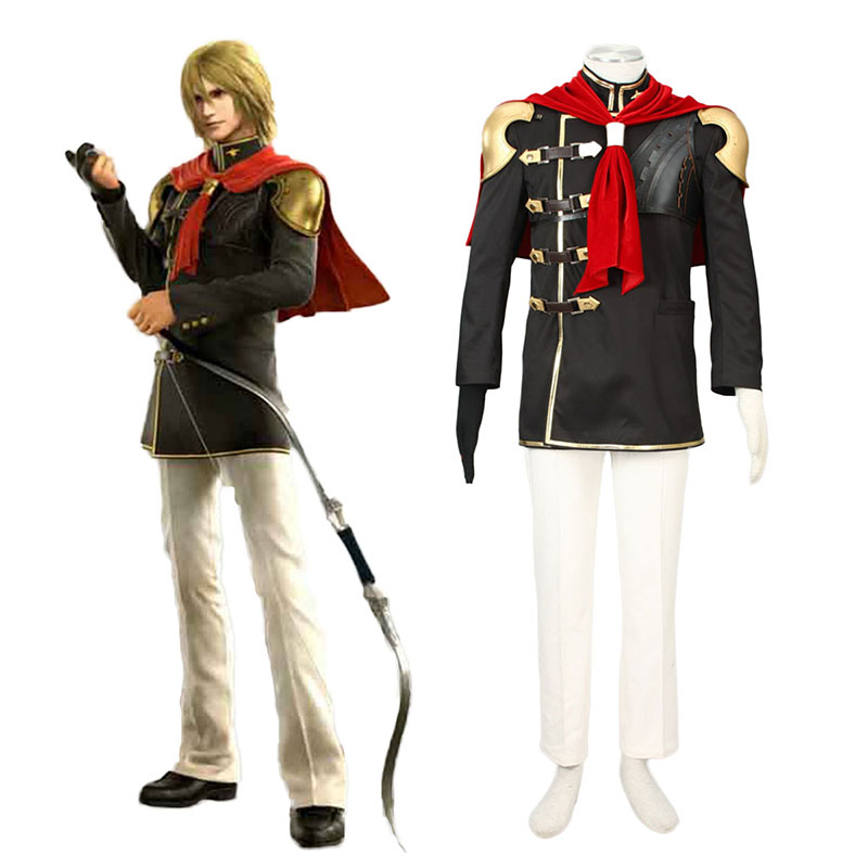 Final Fantasy Type-0 Trey 1 Cosplay Costumes South Africa