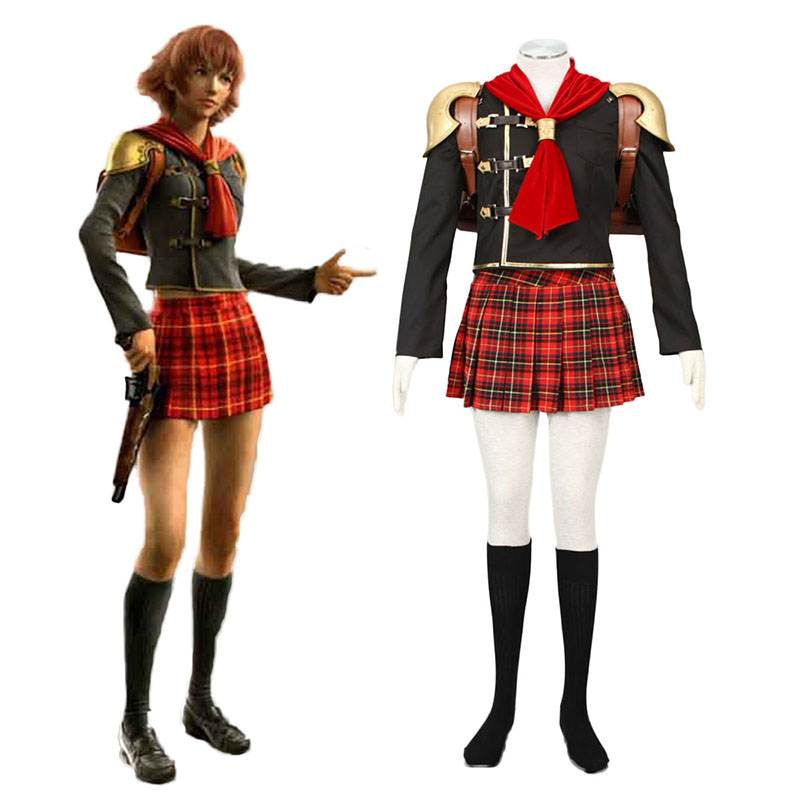 Final Fantasy Type-0 Cater 1 Cosplay Costumes South Africa