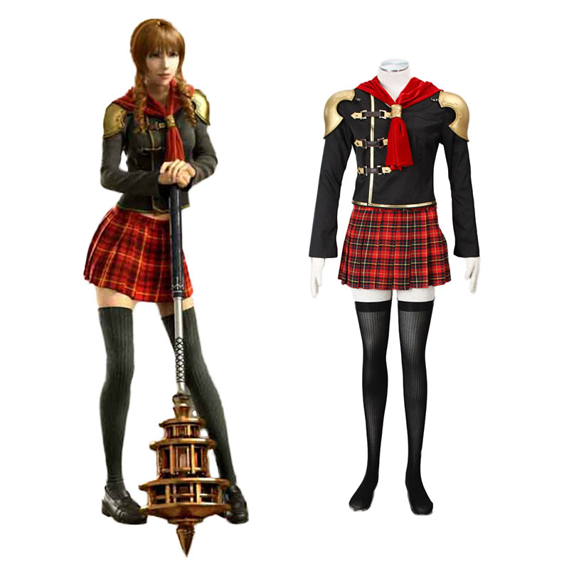 Final Fantasy Type-0 Cinque 1 Cosplay Costumes South Africa