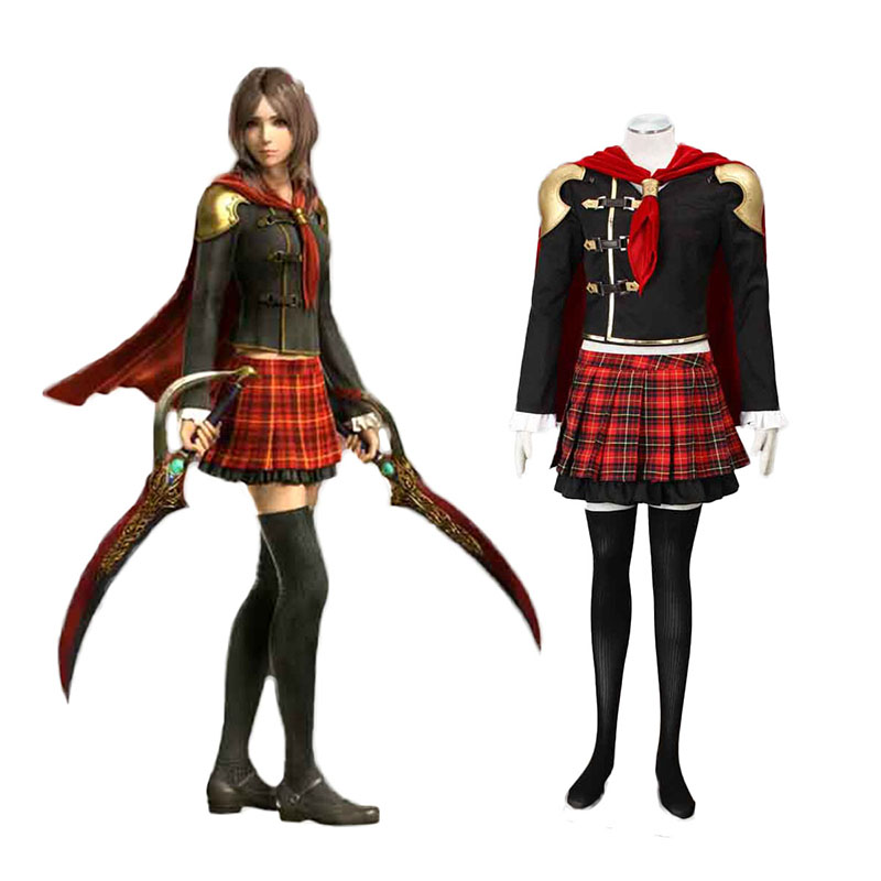 Final Fantasy Type-0 Rem Tokimiya 1 Cosplay Costumes South Africa