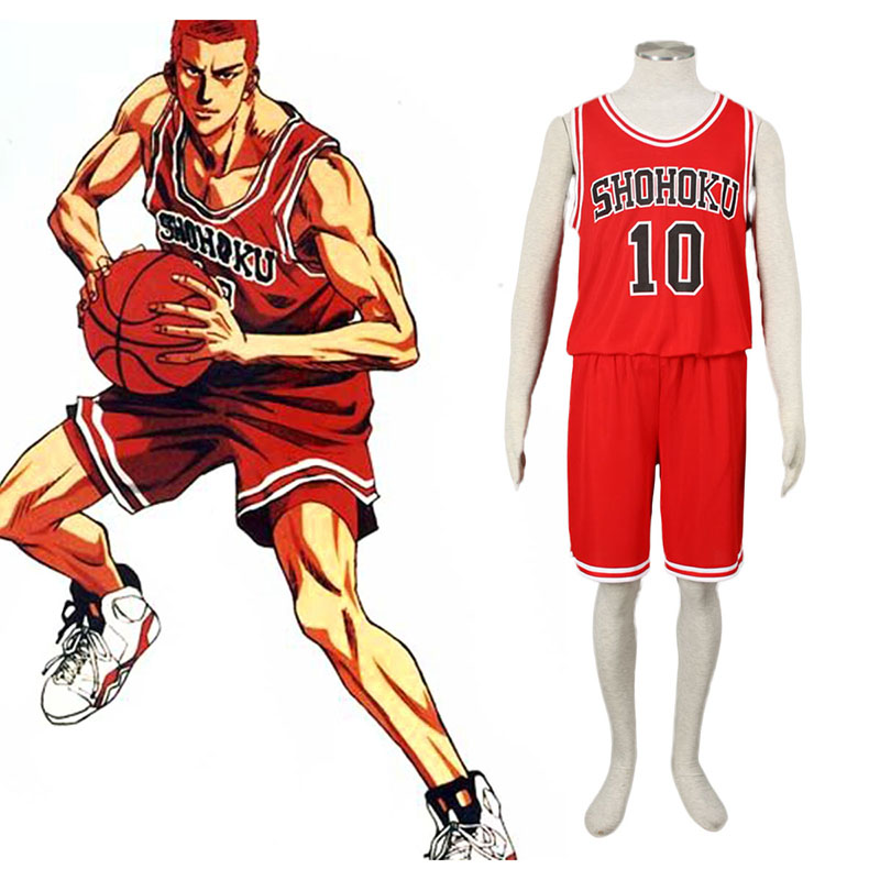 Slam Dunk Hanamichi Sakuragi 1 Cosplay Costumes South Africa
