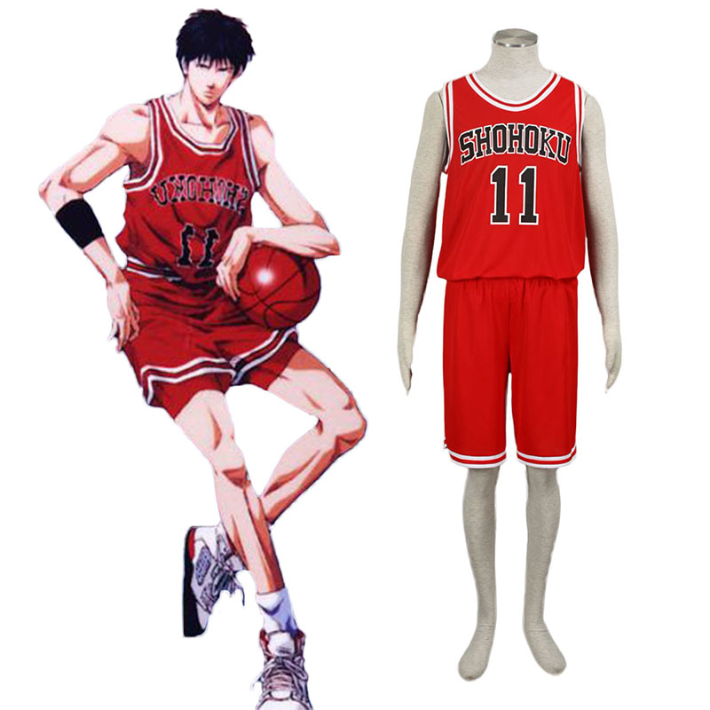 Slam Dunk Kaede Rukawa 1 Cosplay Costumes South Africa
