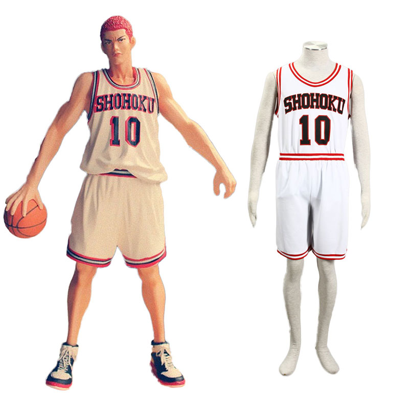 Slam Dunk Hanamichi Sakuragi 2 Cosplay Costumes South Africa