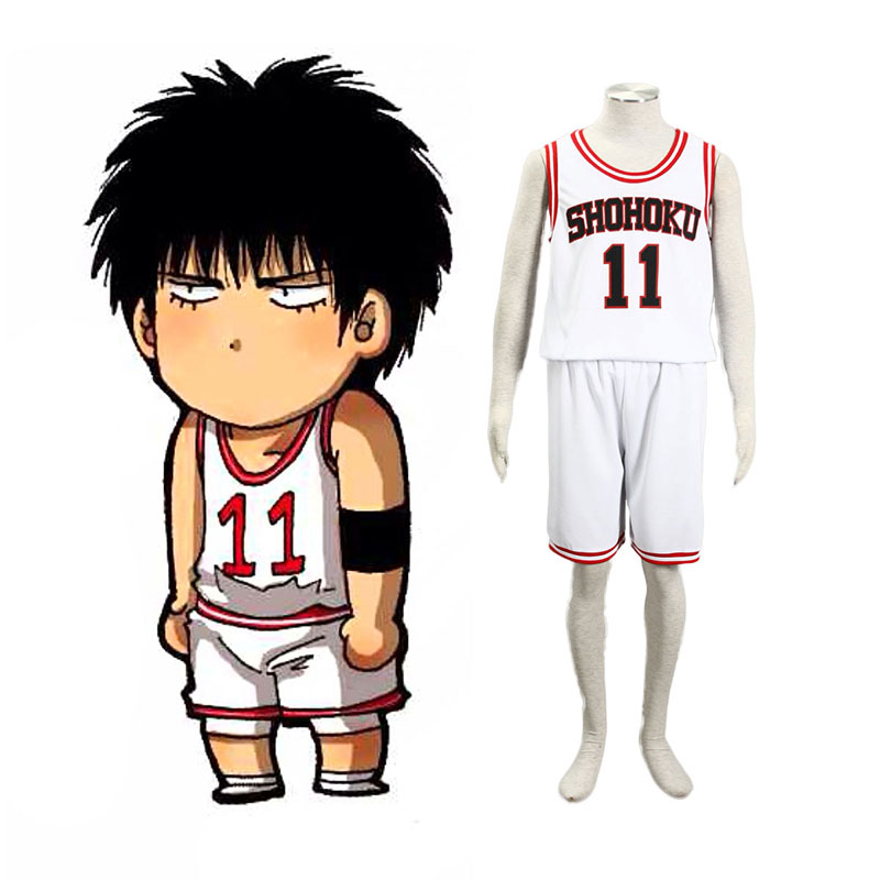 Slam Dunk Kaede Rukawa 2 Cosplay Costumes South Africa