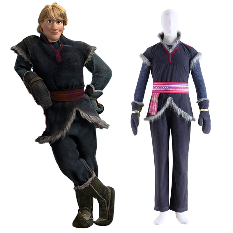 Frozen Kristoff 1 Cosplay Costumes South Africa