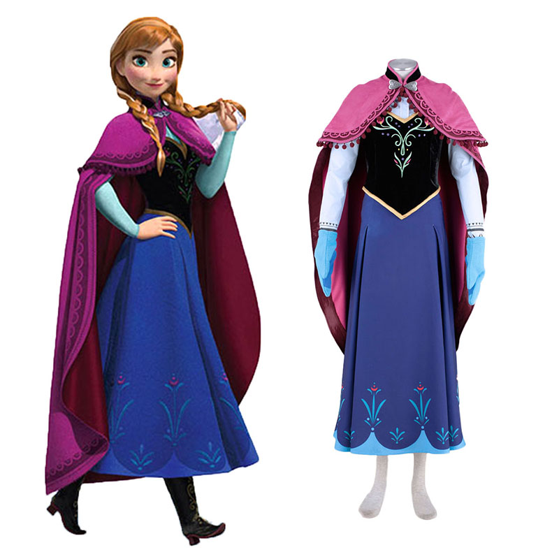 Frozen Anna 1 Cosplay Costumes South Africa