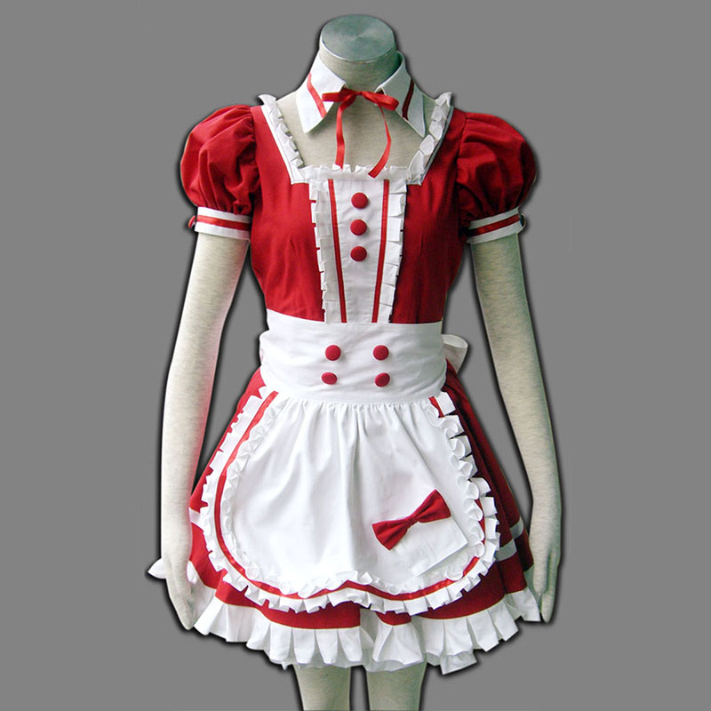Red Maid Uniform 6 Cosplay Costumes South Africa