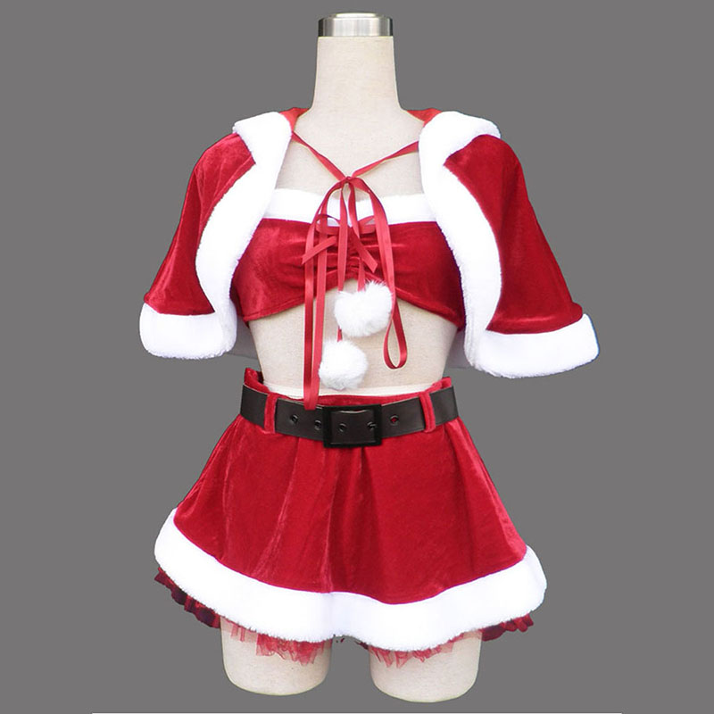 Red Christmas Lady Dress 5 Cosplay Costumes South Africa