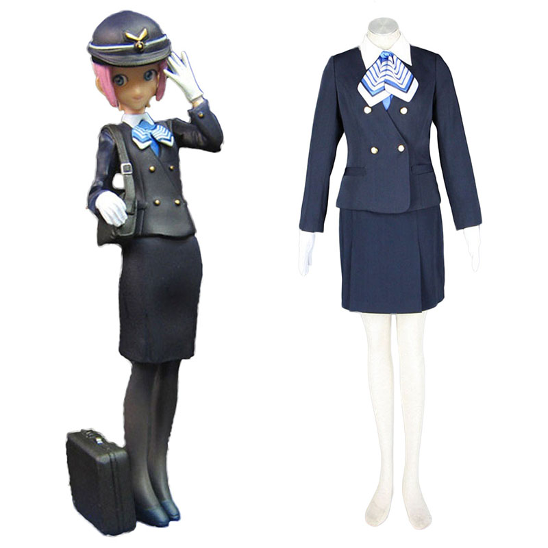 Aviation Uniform Culture Stewardess 7 Cosplay Costumes South Africa