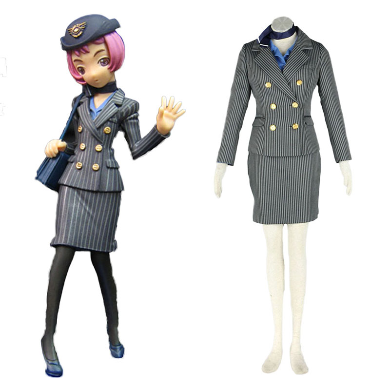 Aviation Uniform Culture Stewardess 8 Cosplay Costumes South Africa