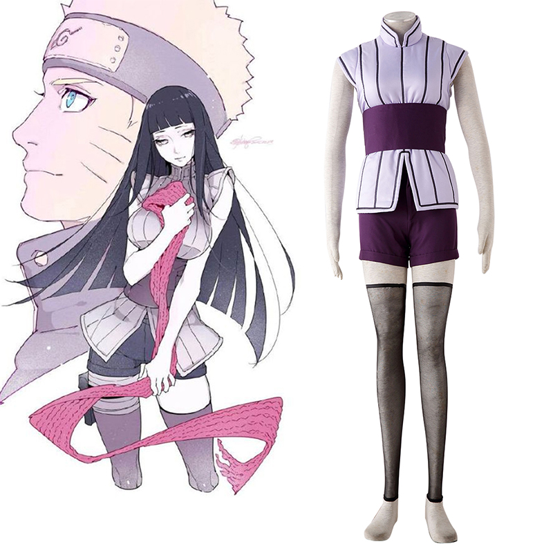 Naruto Hyūga Hinata 4 Cosplay Costumes South Africa