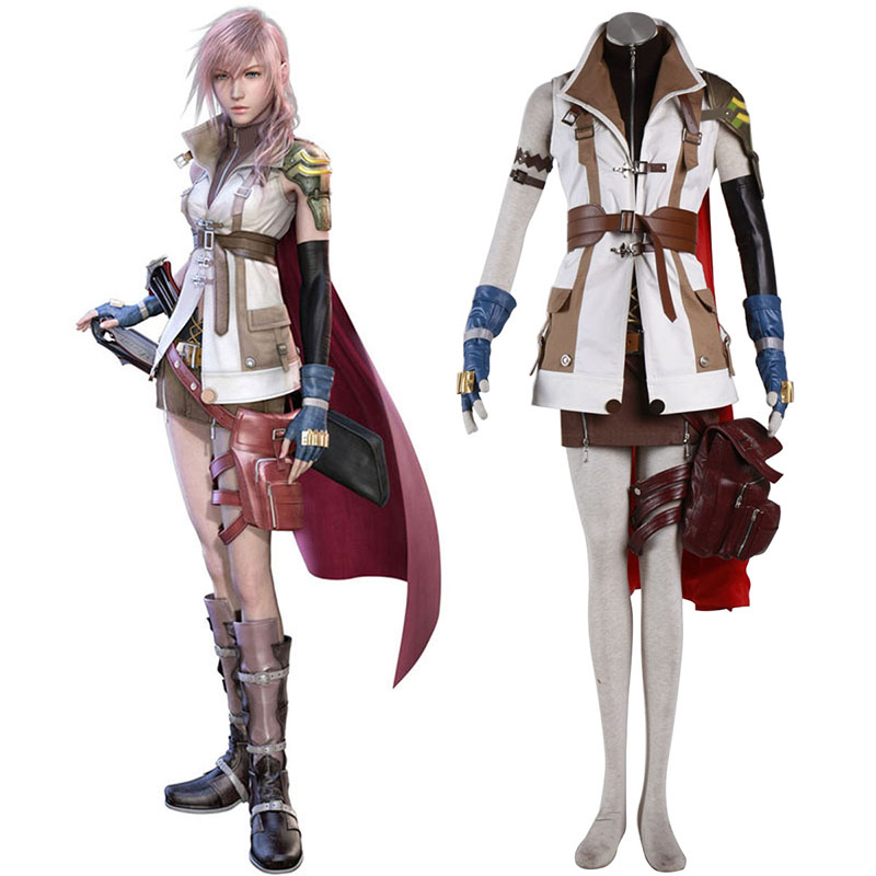 Final Fantasy XIII Lightning 1 Cosplay Costumes South Africa