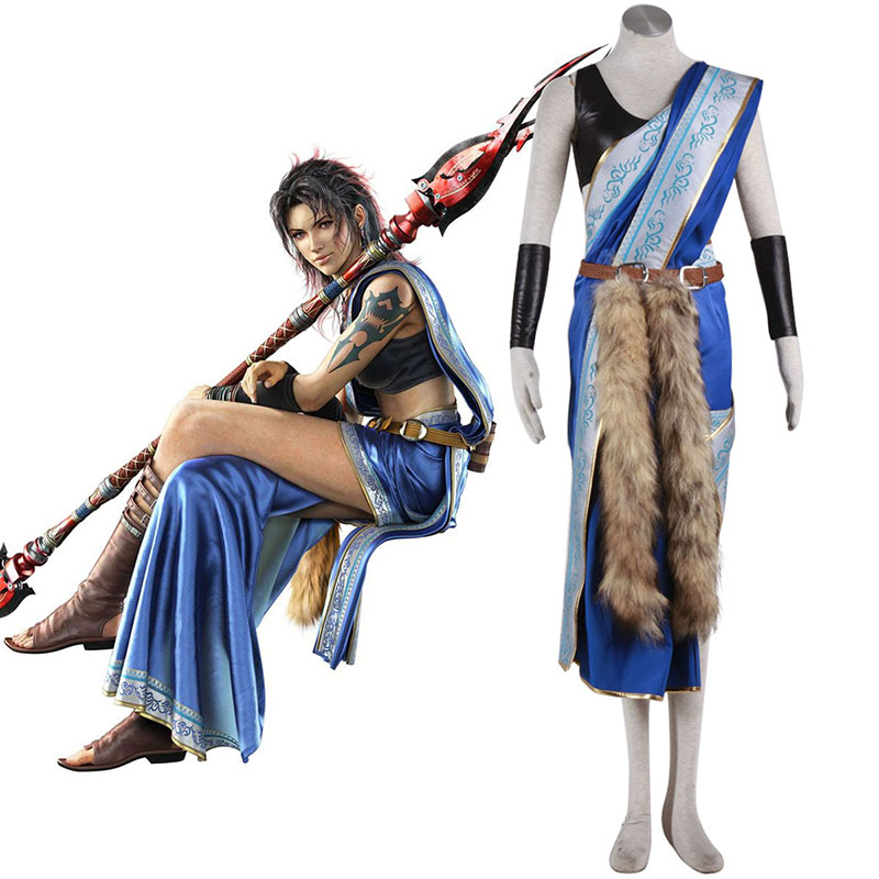 Final Fantasy XIII Oerba Yun Fang 1 Cosplay Costumes South Africa