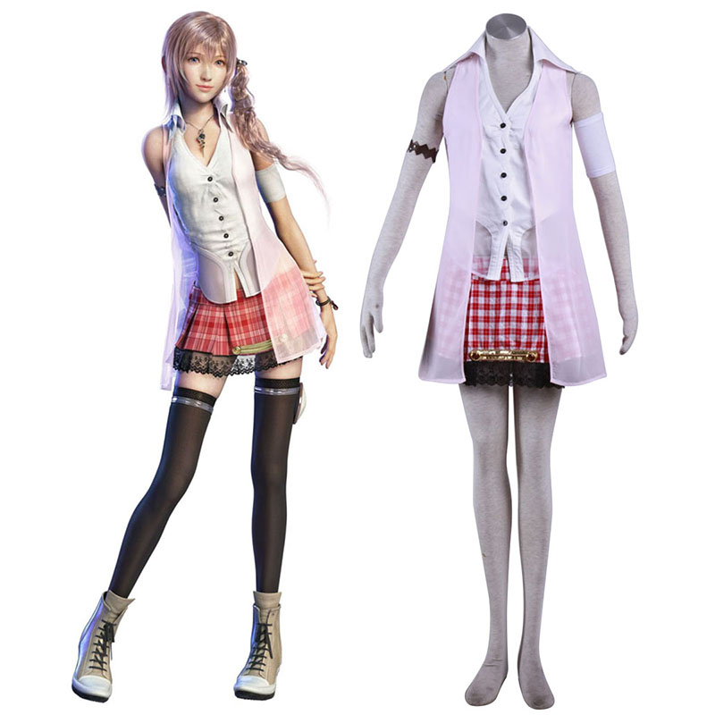 Final Fantasy XIII Serah Farron 1 Cosplay Costumes South Africa
