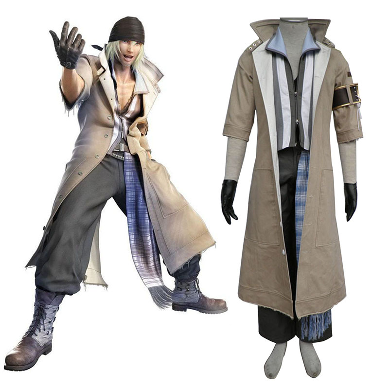 Final Fantasy XIII Snow Villiers 1 Cosplay Costumes South Africa