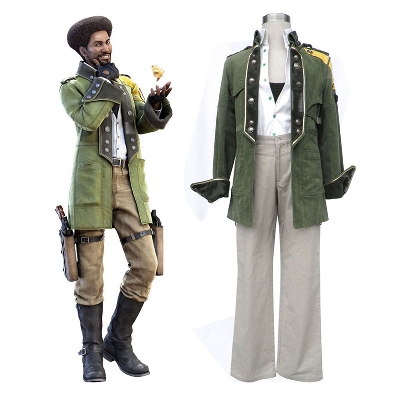 Final Fantasy XIII Sazh Katzroy 1 Cosplay Costumes South Africa