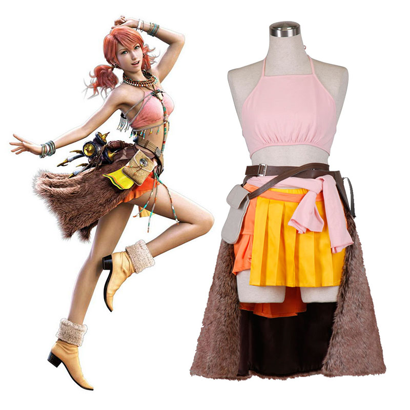 Final Fantasy XIII Oerba Dia Vanille 1 Cosplay Costumes South Africa