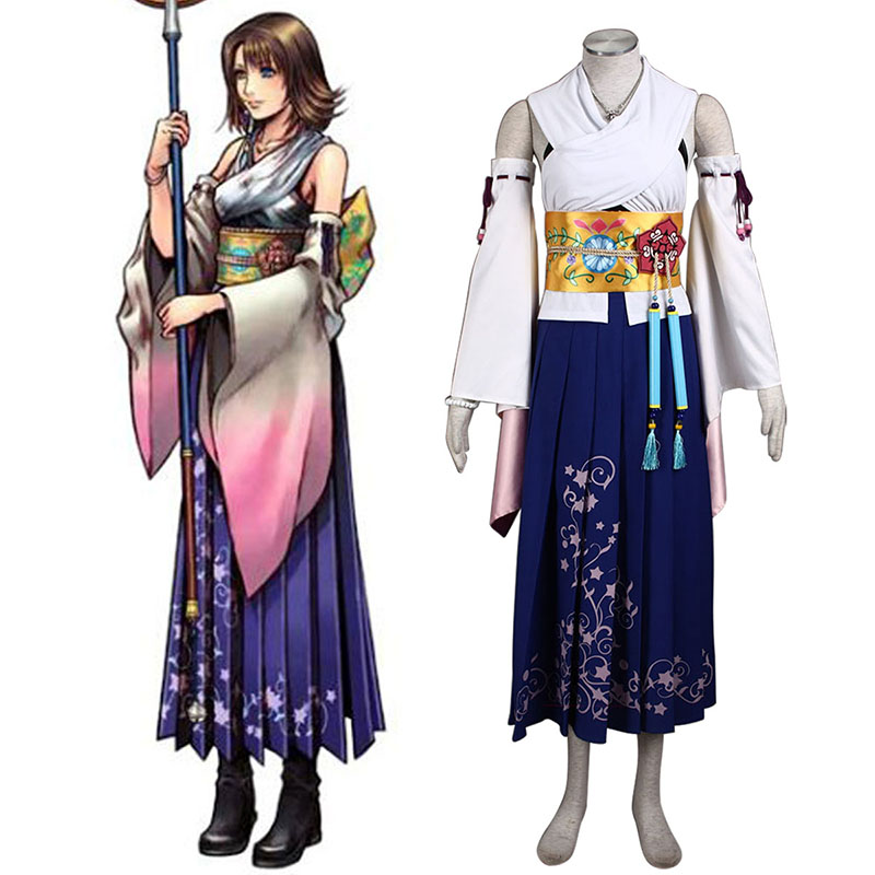 Final Fantasy X Yuna 1 Cosplay Costumes South Africa