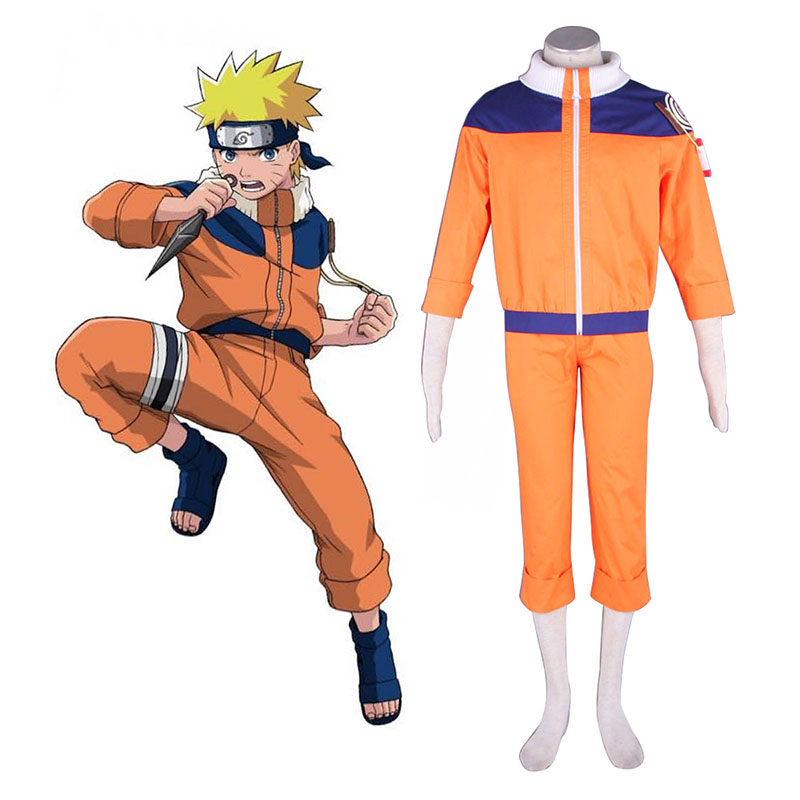 Naruto Uzumaki Naruto 1 Cosplay Costumes South Africa
