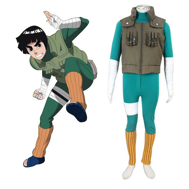 Naruto Shippuden Rock Lee 2 Cosplay Costumes South Africa