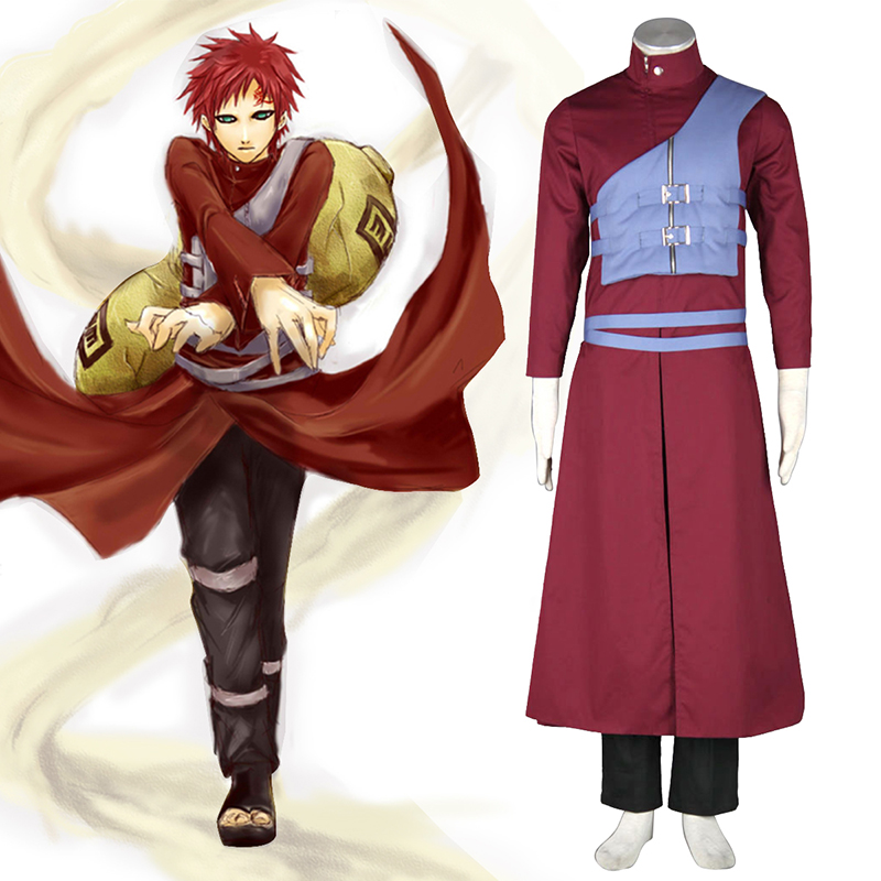 Naruto Shippuden Gaara 7 Cosplay Costumes South Africa