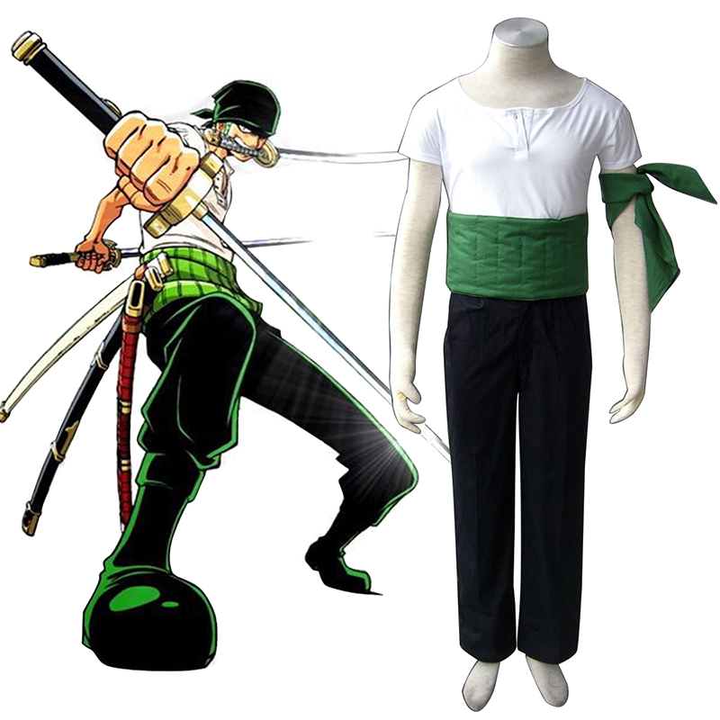 One Piece Roronoa Zoro 1 Cosplay Costumes South Africa