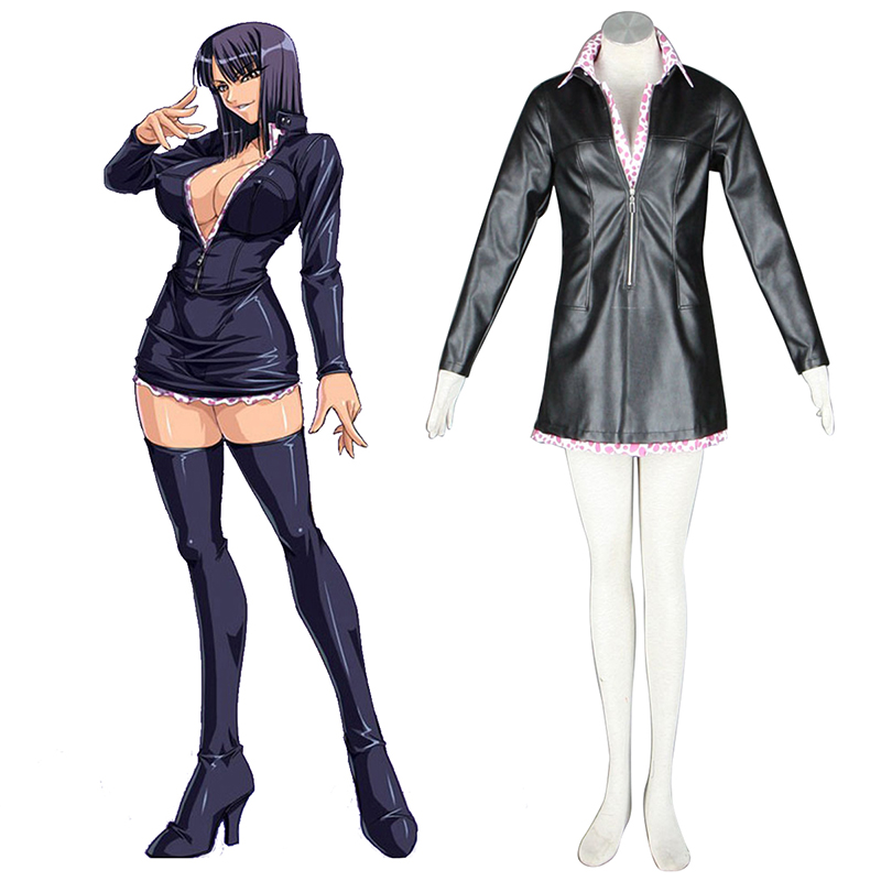 One Piece Nico·Robin 2 Green Cosplay Costumes South Africa