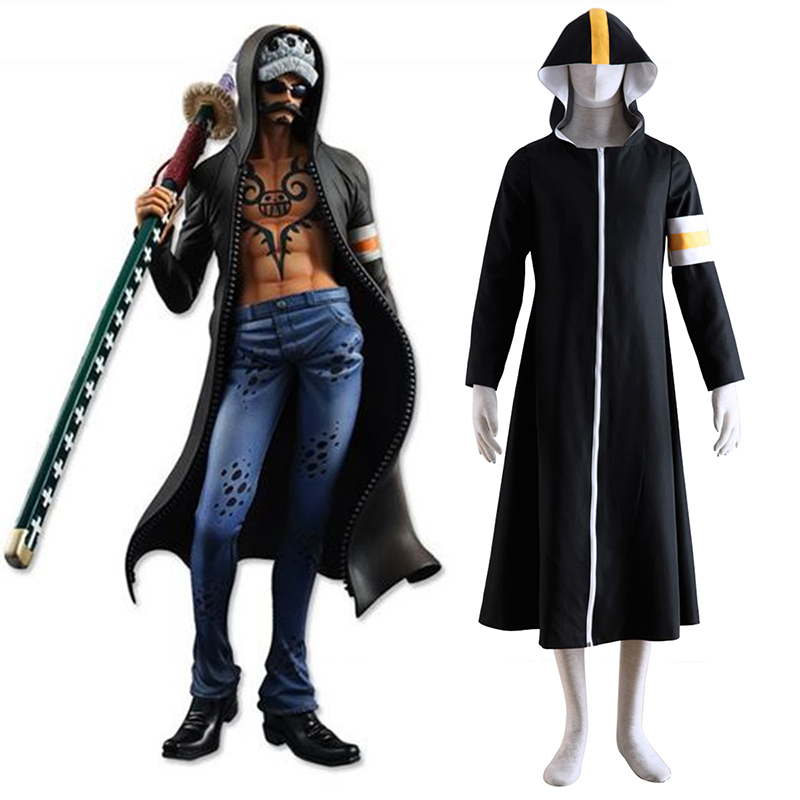 One Piece Surgeon of Death Trafalgar Law 1 Cosplay Costumes South Africa