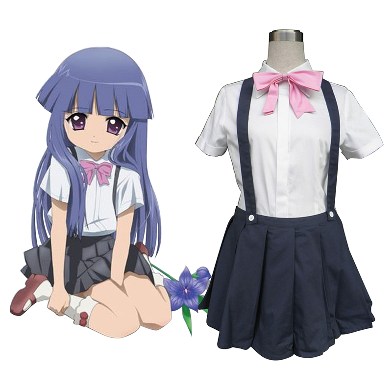 Higurashi When They Cry Furude Rika 1 Cosplay Costumes South Africa